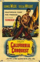 California Conquest 1952 DVD - Cornel Wilde / Teresa Wright